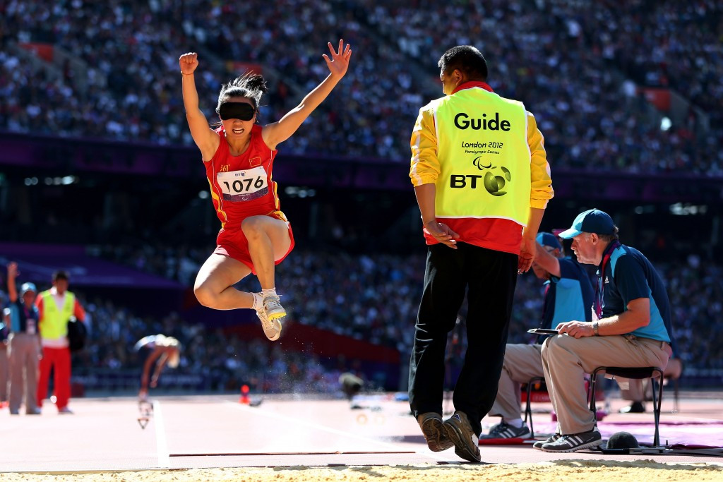 Chinese women's relay quartet set world record on final day of home IPC Athletics Grand Prix