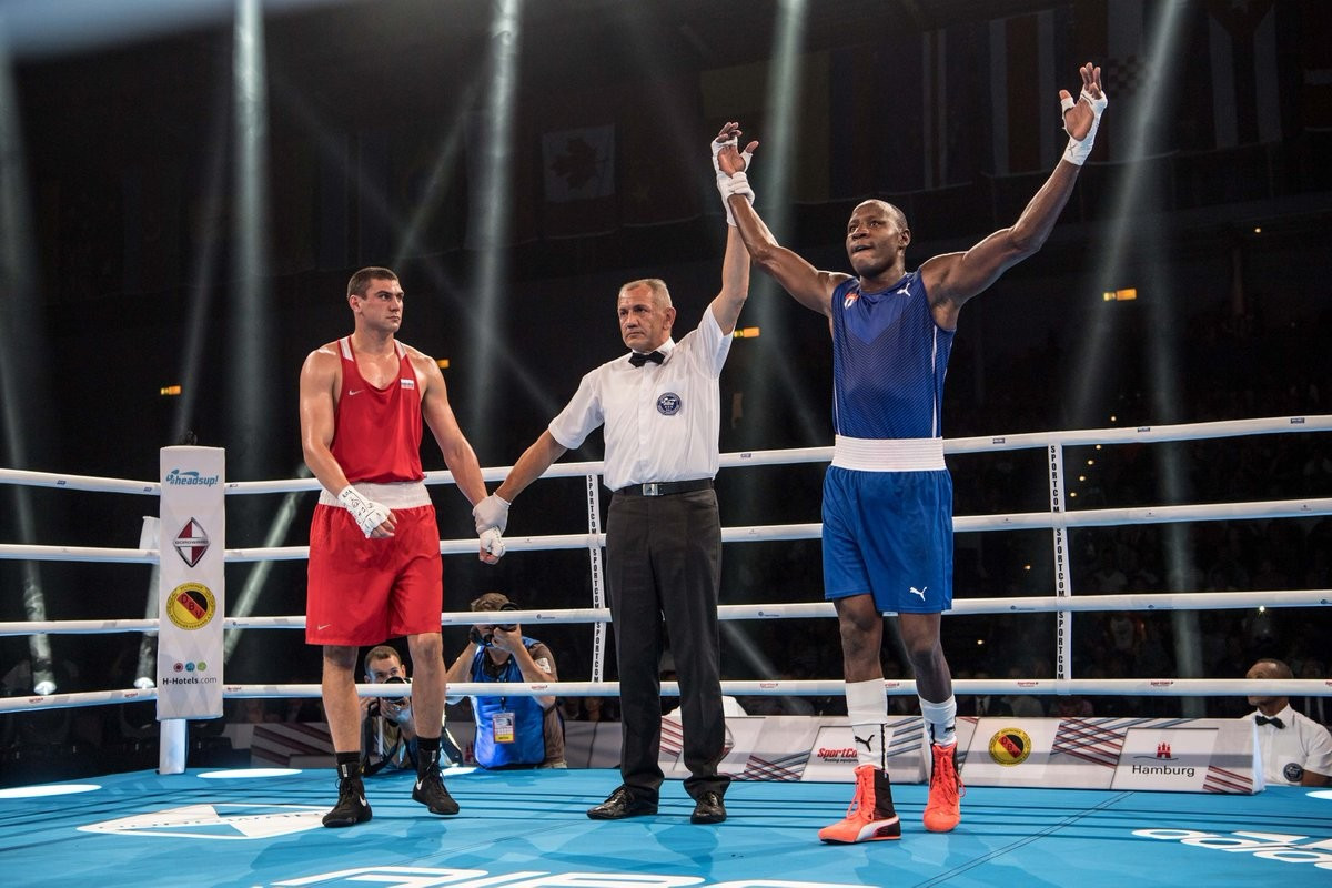 Savón avenges 2015 loss to Tishchenko to cap off memorable night for Cuba at AIBA World Championships