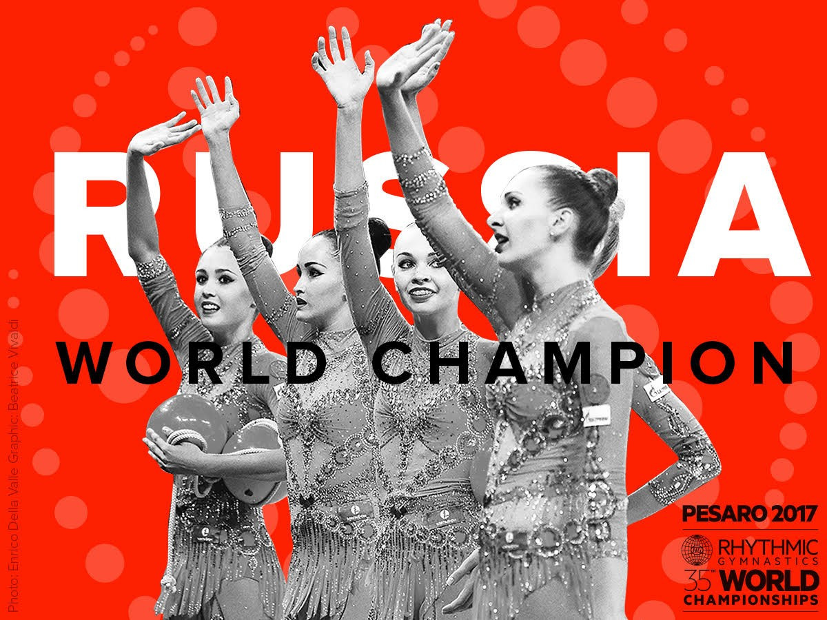 Russia win team all-around title to continue domination of FIG Rhythmic World Championships