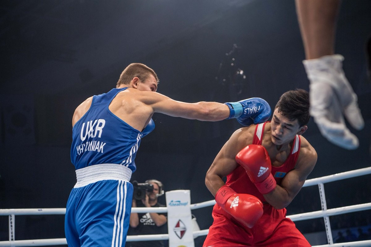 The World Championships debrief was held prior to this evening's final session of action ©AIBA