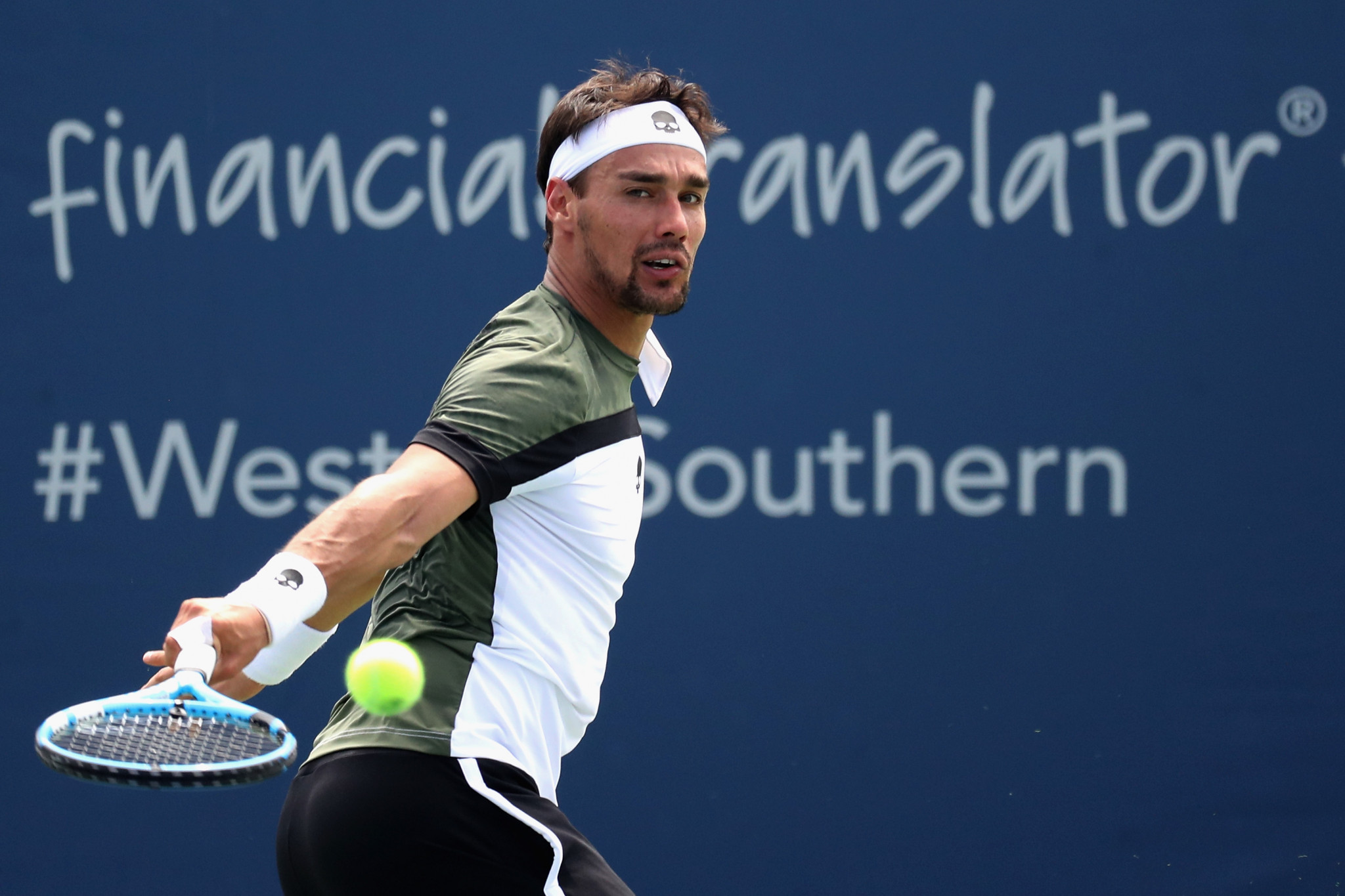 Fognini provisionally suspended from US Open for verbally abusing umpire