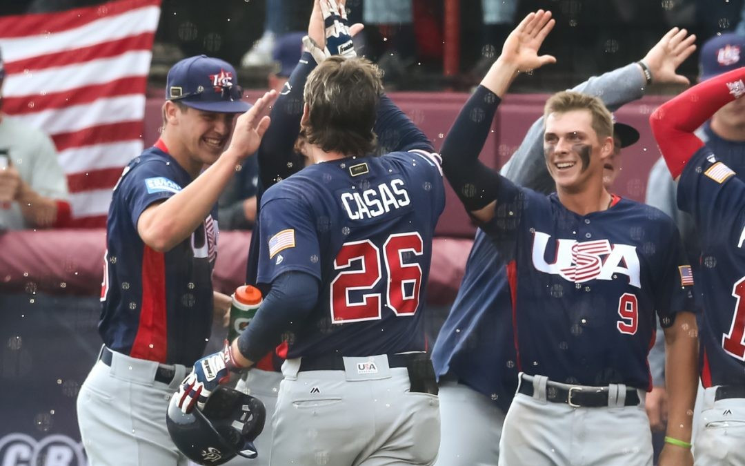 The United States won the repeat of the last edition's final ©WBSC