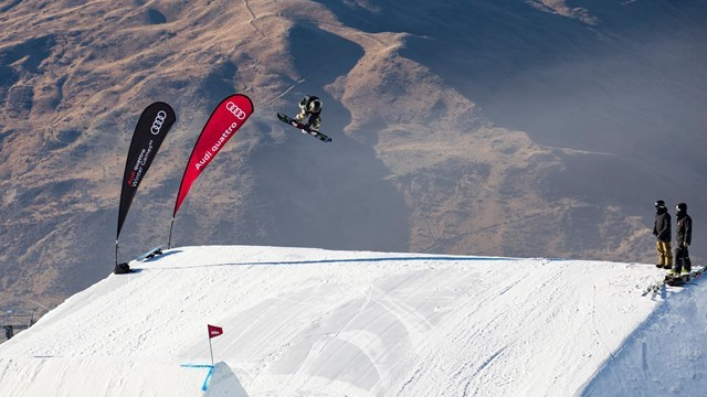 Olympic champion heads FIS Snowboard Slopestyle World Cup qualification in New Zealand