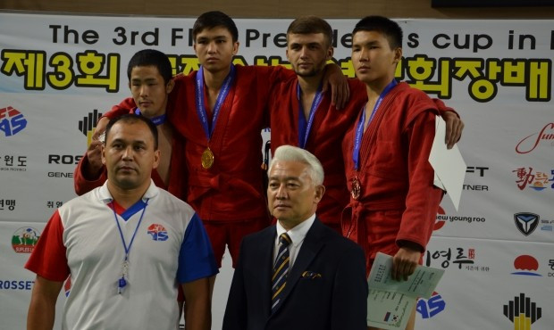 More medals were decided at the Municipal Arena ©FIAS