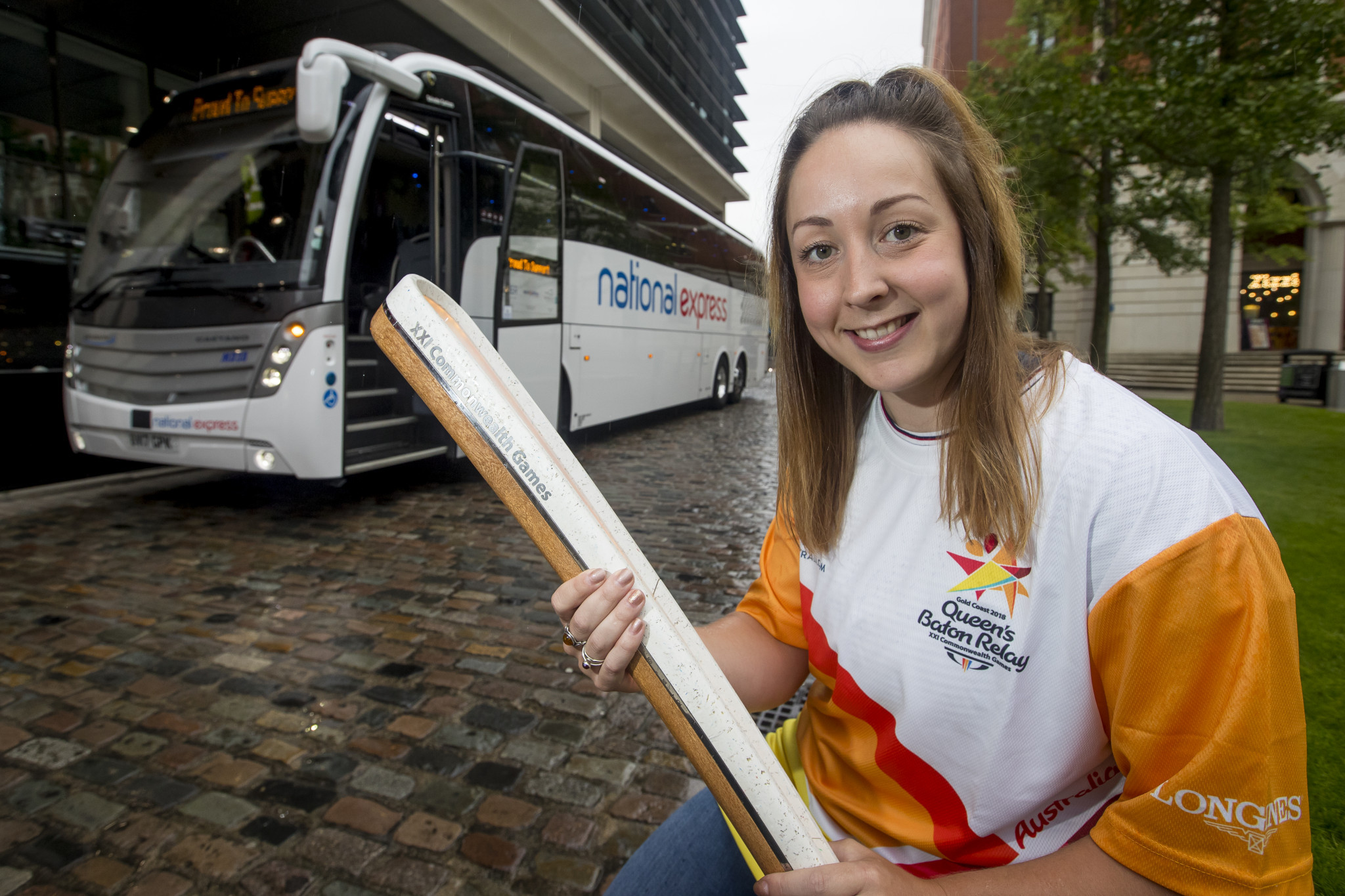 National Express will continue to support Commonwealth Games England until Gold Coast 2018 ©National Express