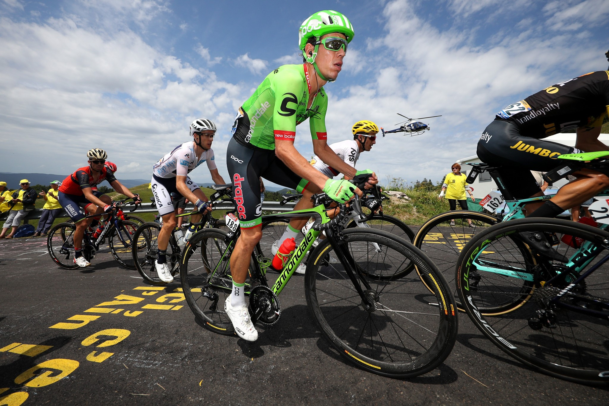 Cannondale-Drapac have turned to crowdfunding to ensure they will compete in the 2018 WorldTour season ©Getty Images