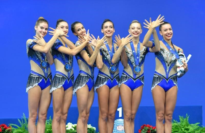Hosts Italy deny Russia clean sweep at FIG Rhythmic World Championships
