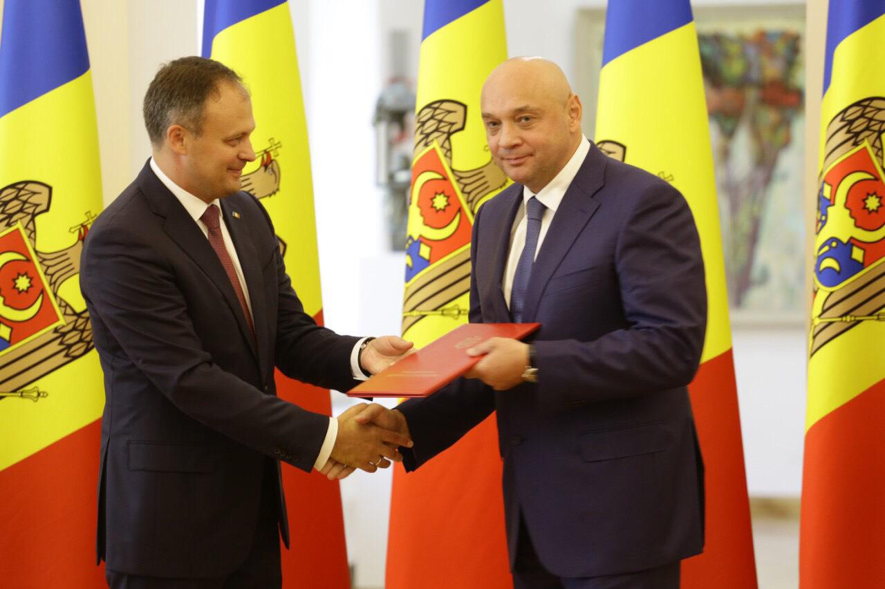 World Taekwondo Europe vice president receives honorary diploma in Moldova