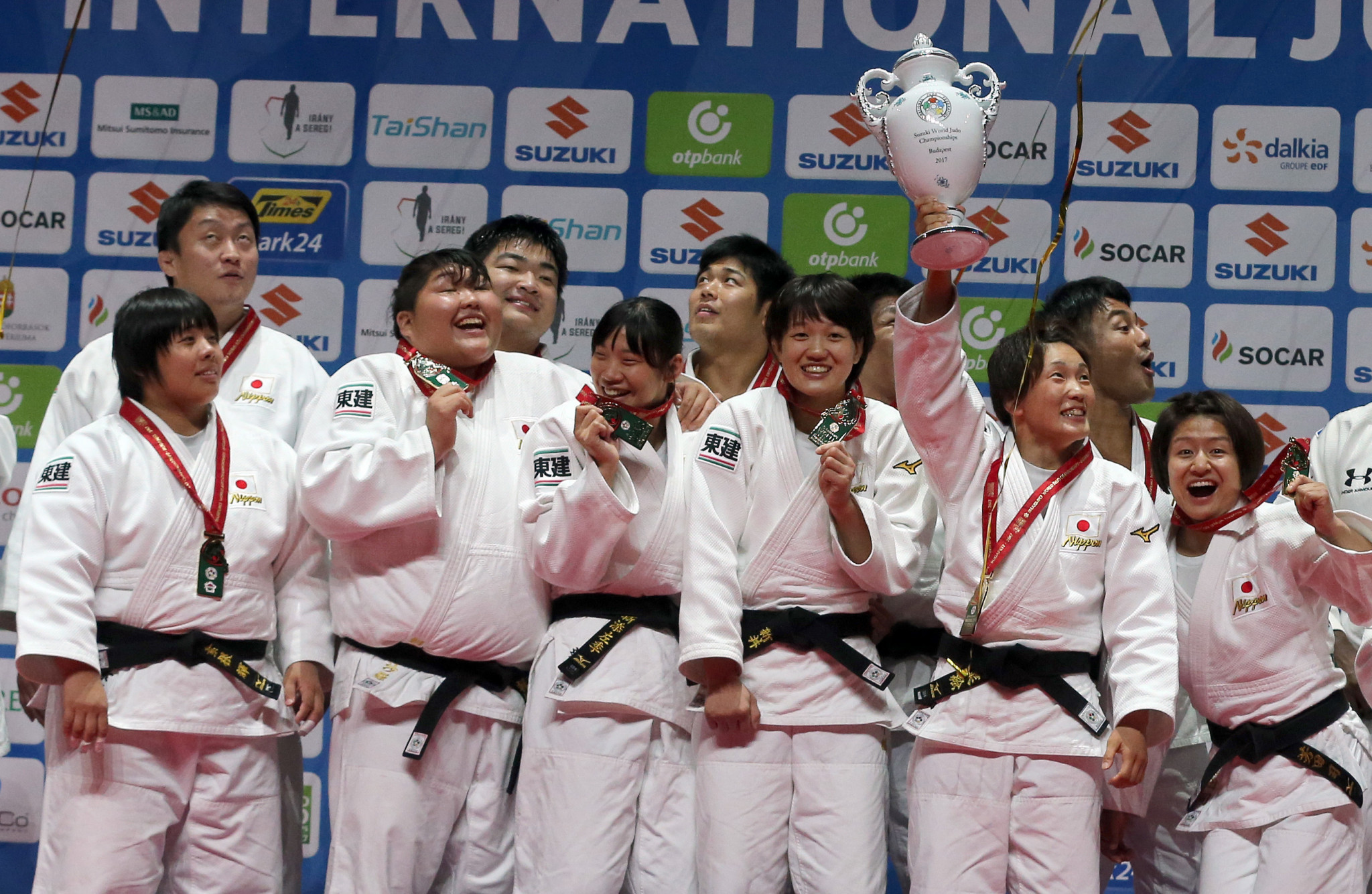 Japan win first mixed team title at IJF World Championships