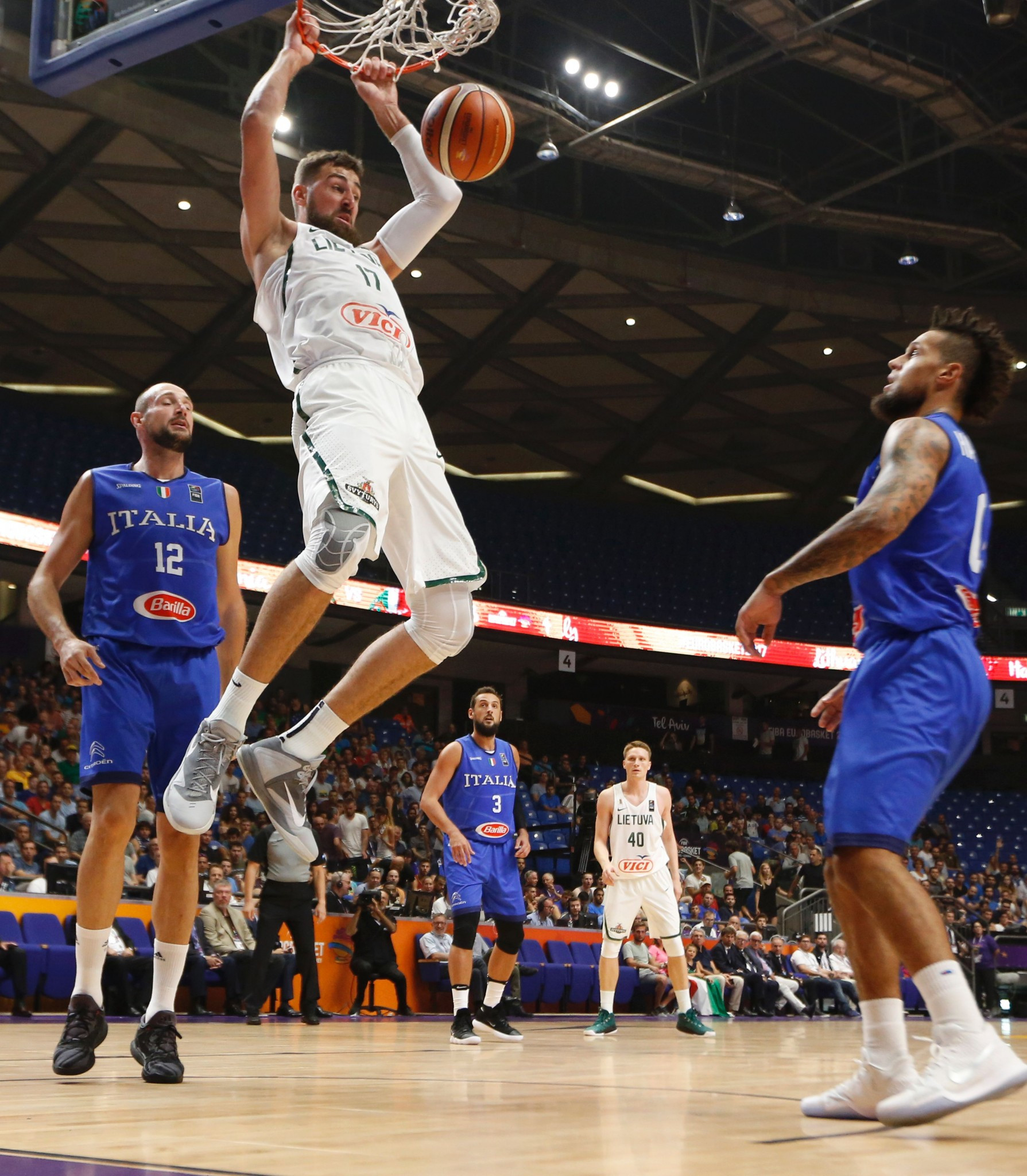 Lithuania end 100 per cent record of Italy as EuroBasket continues