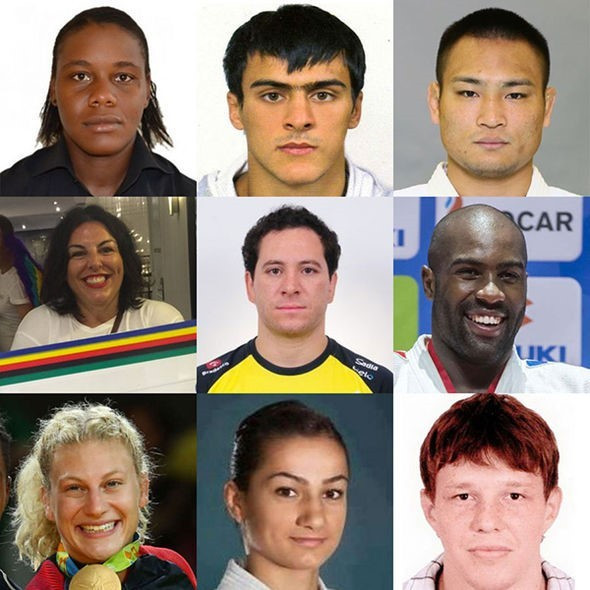 The nine members of the Athletes' Commission have been confirmed ©IJF