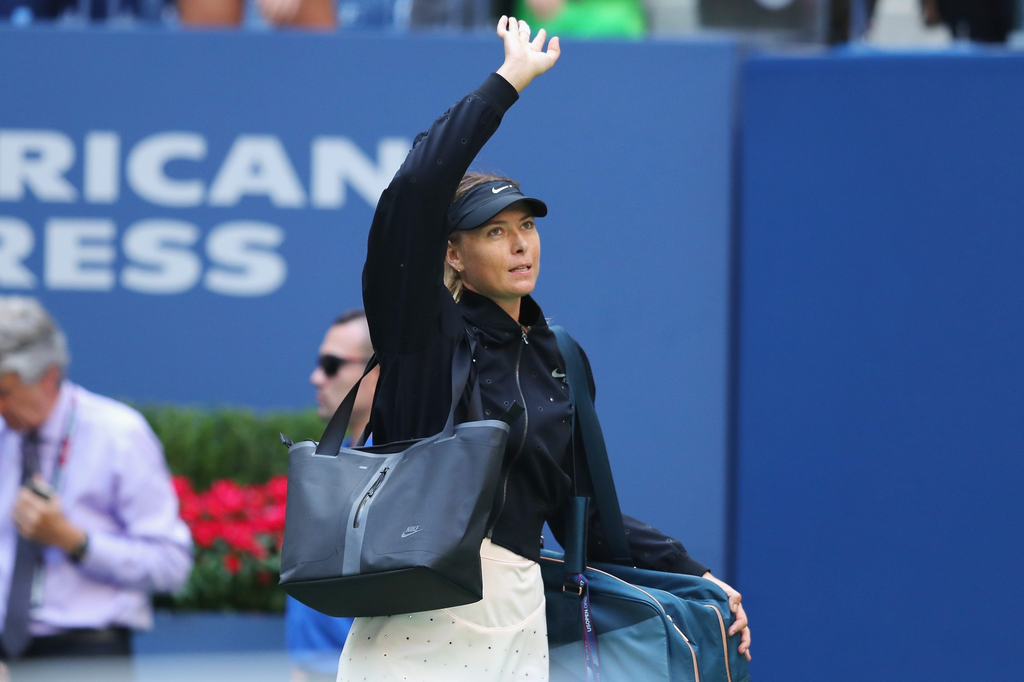 Russia's Maria Sharapova has been eliminated from the US Open by Latvia's Anastasija Sevastova ©Getty Images