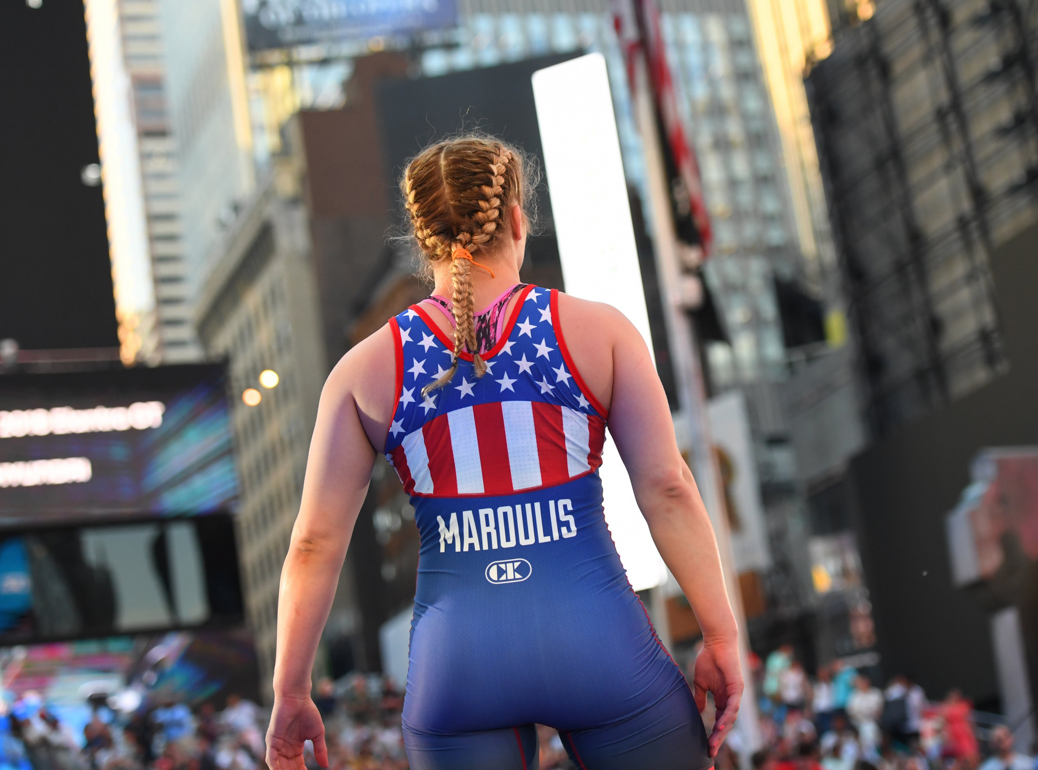 Helen Maroulis is among those on the women's shortlist after winning the women's 58kg gold medal at the United World Wresting Championships in Paris without conceding a point ©Getty Images
