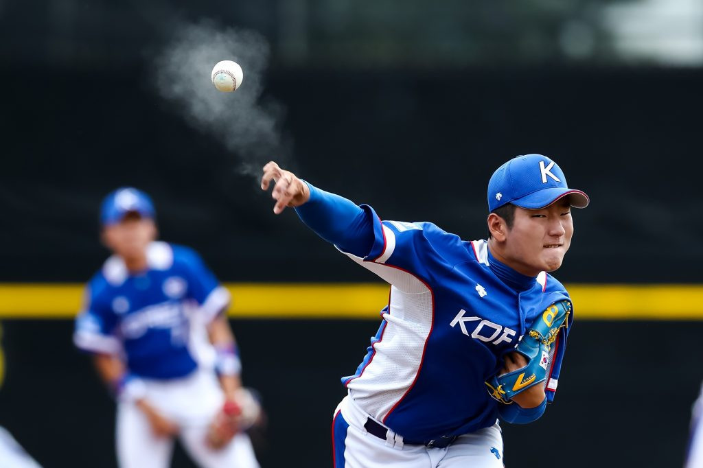 South Korea also maintained their unbeaten record at the event so far with a battling 11-7 victory over the host nation ©WBSC