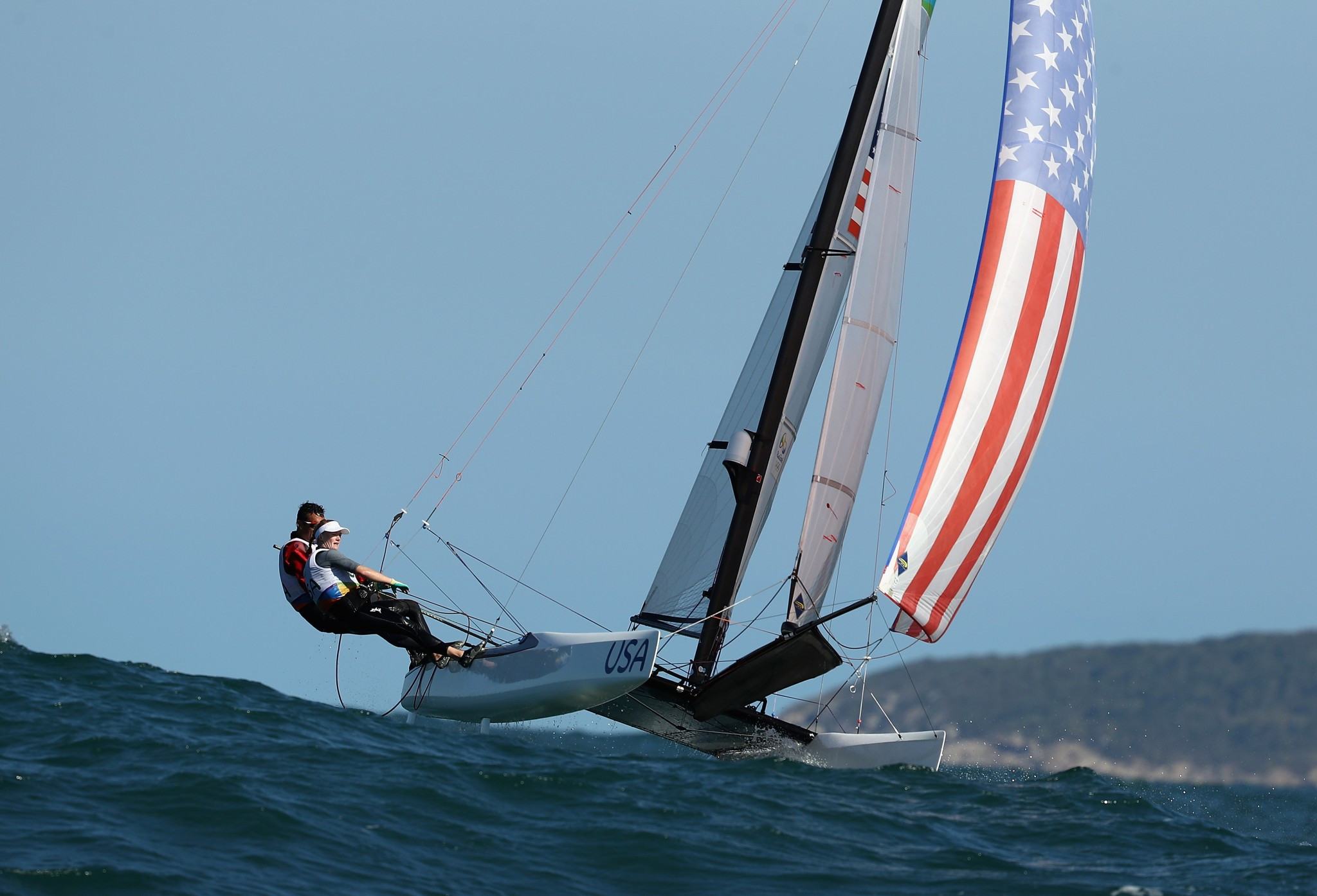 Nacra 17 World Championships to begin after American loses part of three fingers in training accident