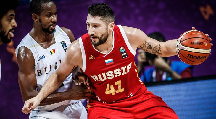Russia held off Belgium to secure a knock-out round EuroBasket spot ©FIBA