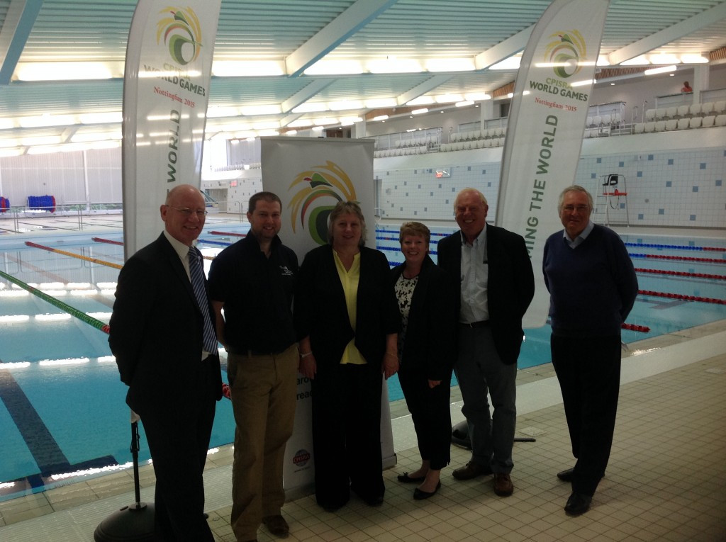 Sport Nottinghamshire have played a key role in the 200-strong team of volunteers for the CPSIRA World Games as well as the safeguarding and welfare for the event