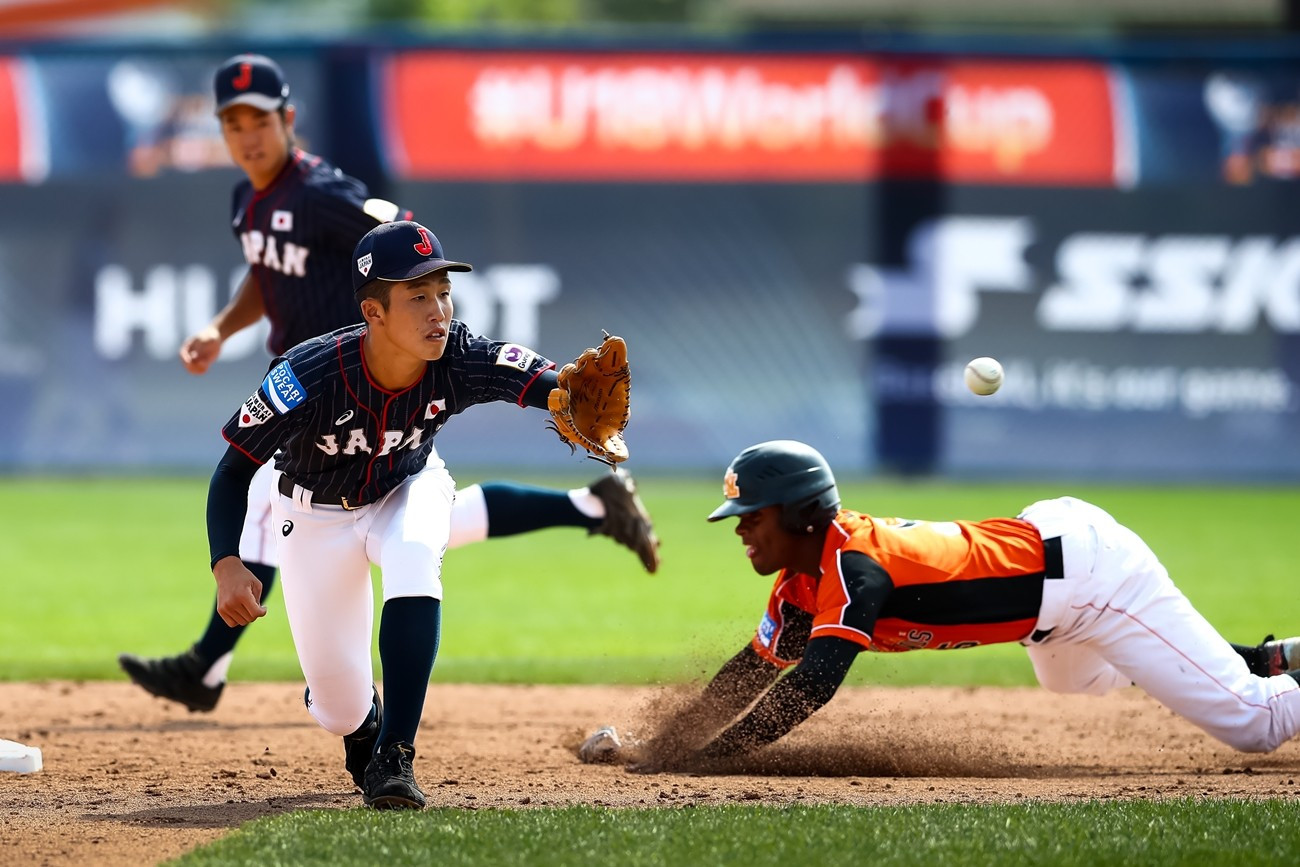 Japan have qualified from Group B, alongside the United States and Cuba ©WBSC