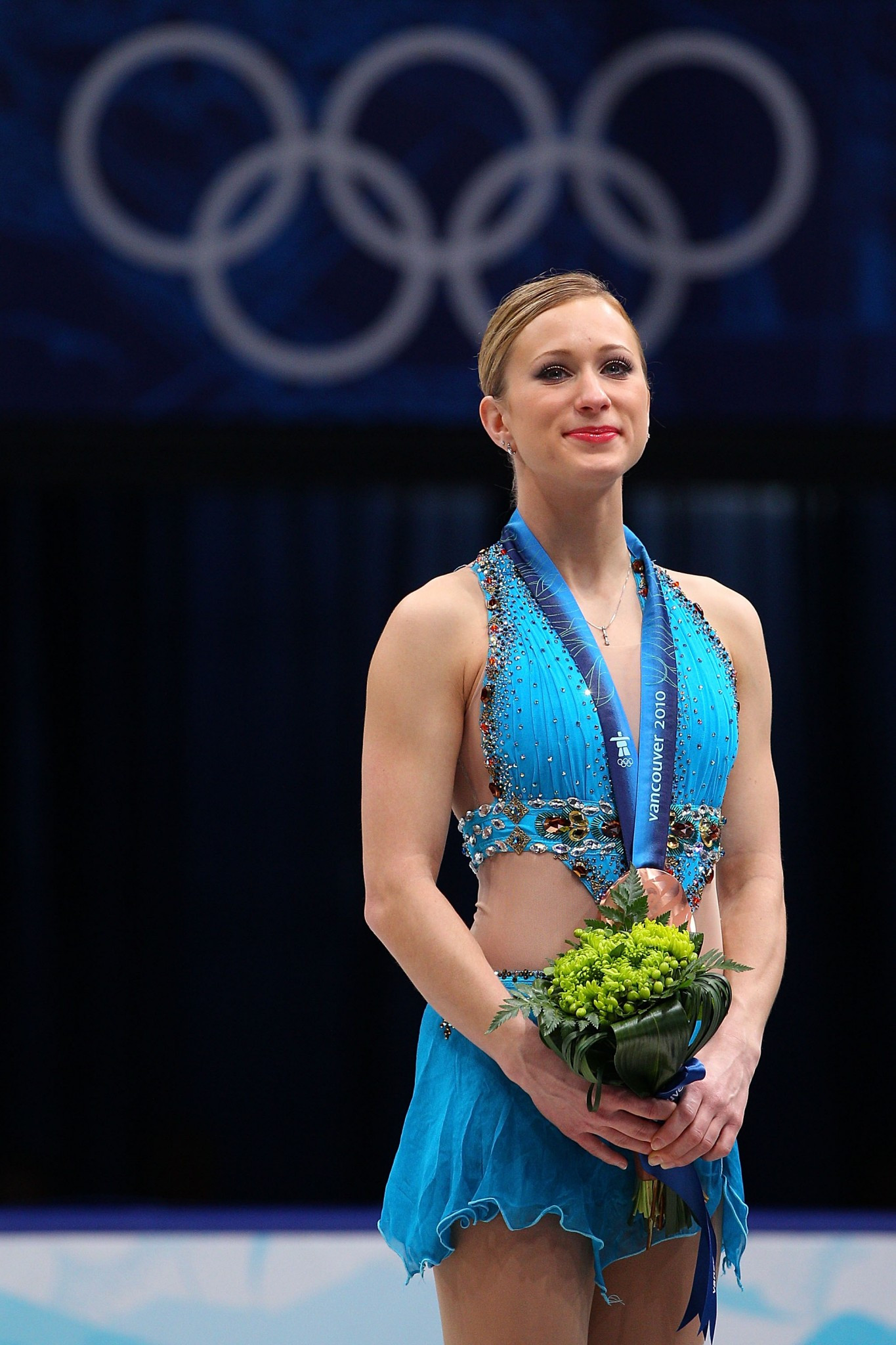 Joannie Rochette won an emotional bronze medal at Vancouver 2010 after her mother passed away  ©Getty Images