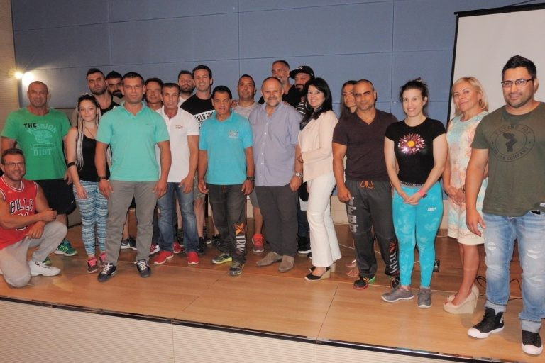 Fitness and bodybuilding seminar hosted in Athens