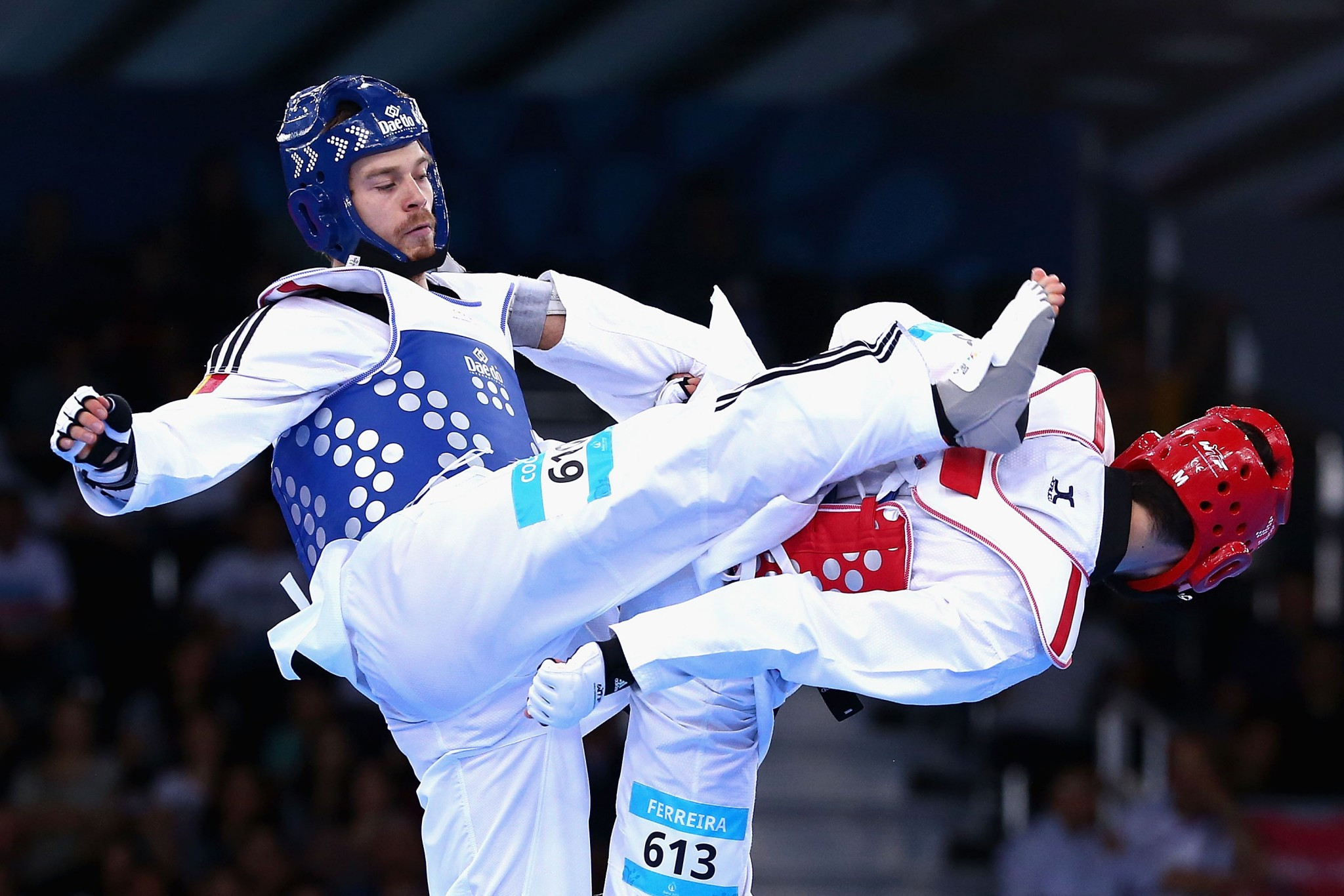 Aaron Cook has boosted taekwondo in Moldova after switching to the country ©Getty Images