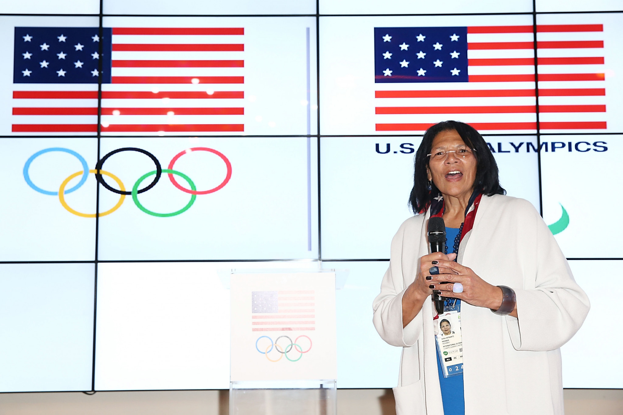America's Anita DeFrantz is also expected to stand for vice-president during the IOC Session ©Getty Images
