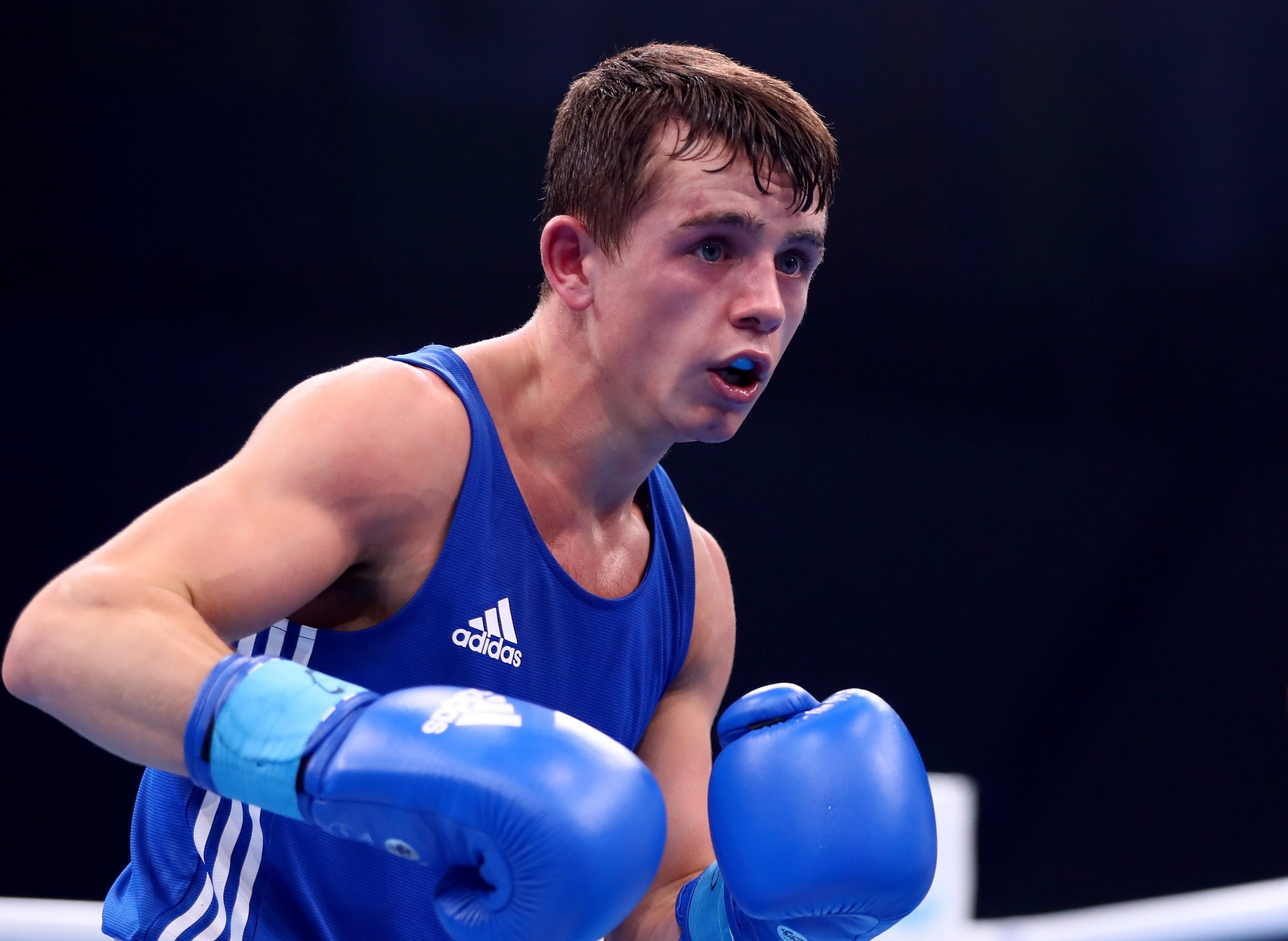 Peter McGrail was the only British medallist at the AIBA World Championships in Hamburg ©Getty Images
