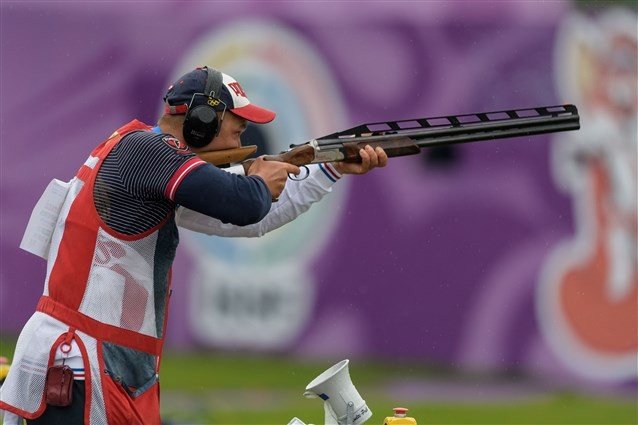 Ankur Mittal wins silver at men's double trap event