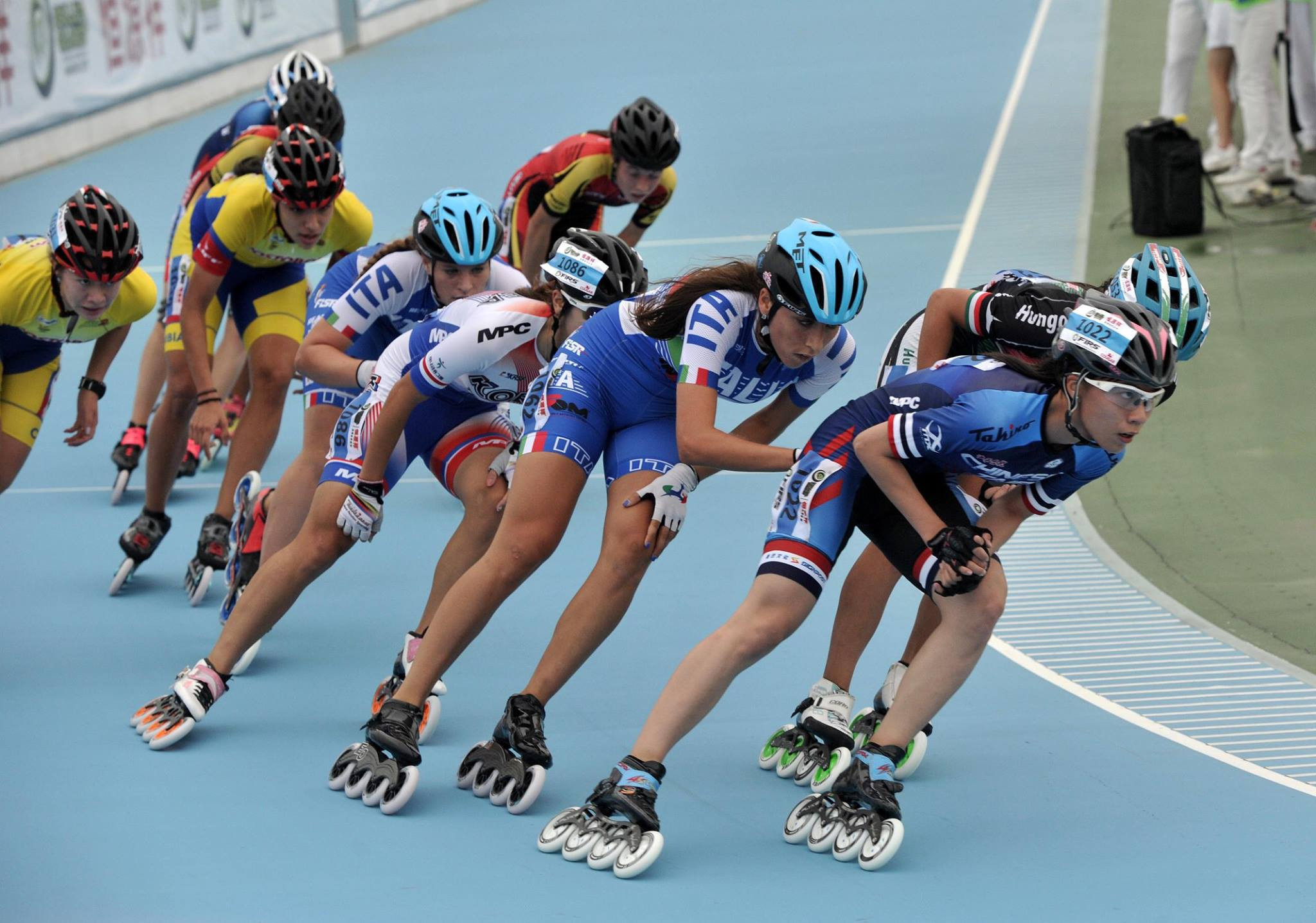Colombia enjoy speed skating success at World Roller Games
