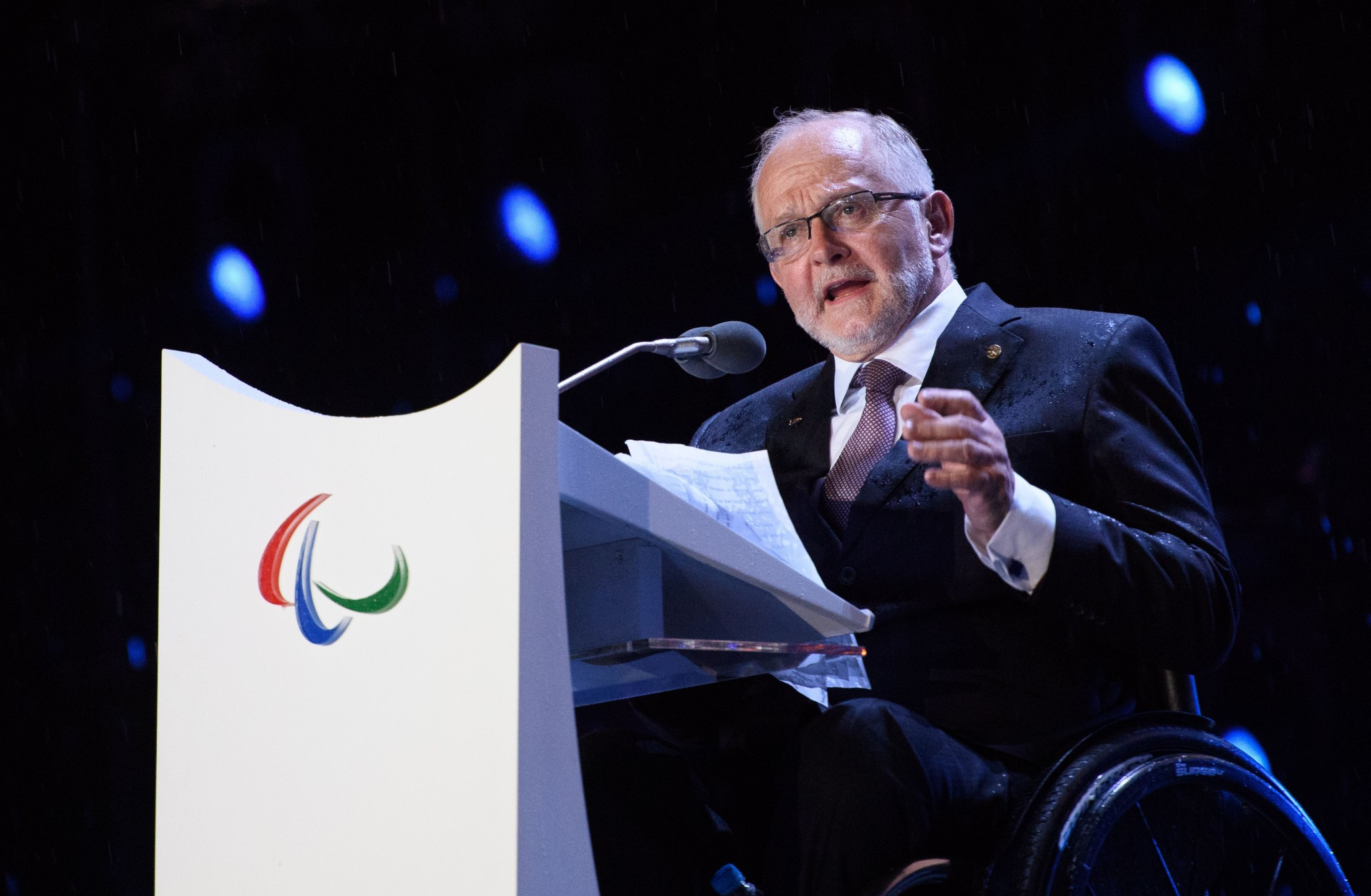 Sir Philip Craven's 16-year tenure as IPC President is soon to end ©Getty Images