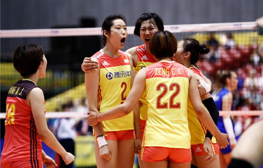 China is in action in both men's and women's competitions for the Volleyball Nations League ©Getty Images