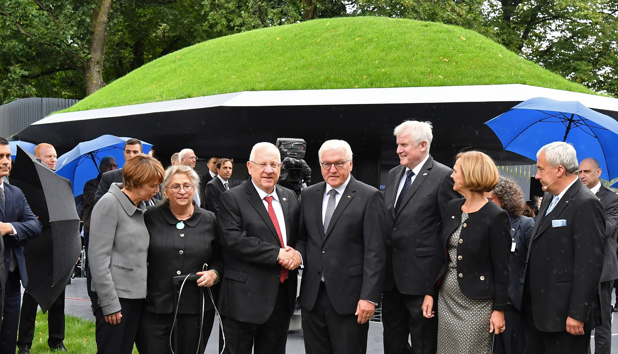Výsledek obrázku pro foto mnichov Steinmeier a Rivlin