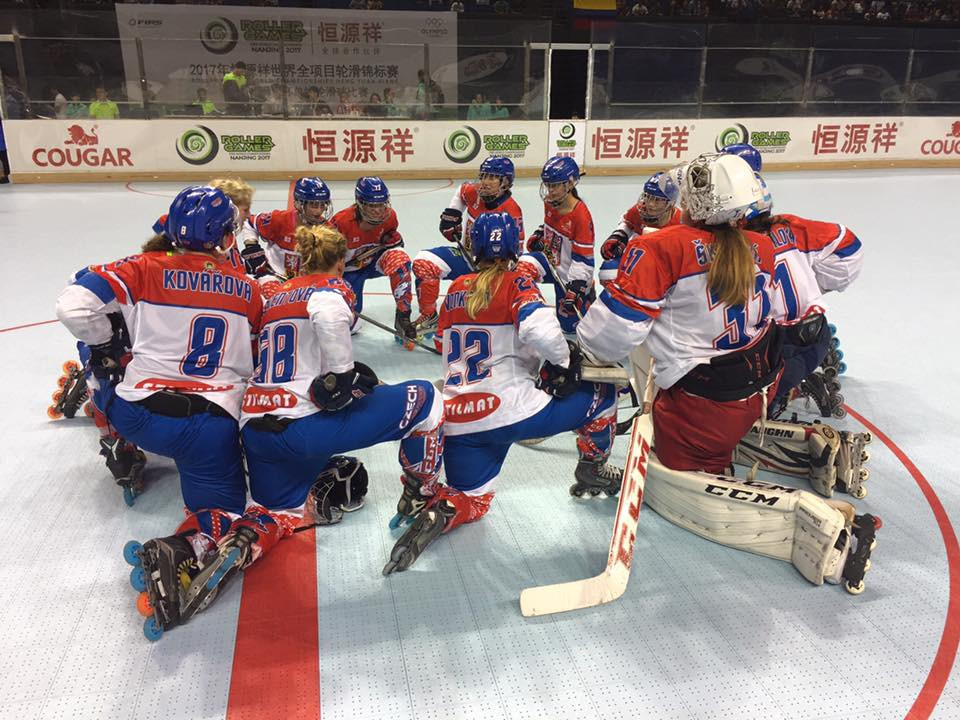 The Czech Republic earned a place in the women's inline hockey semi-finals ©World Skate