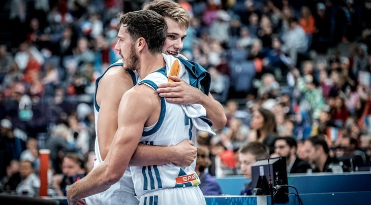 Slovenia finish top of group at EuroBasket with 100 per cent record intact