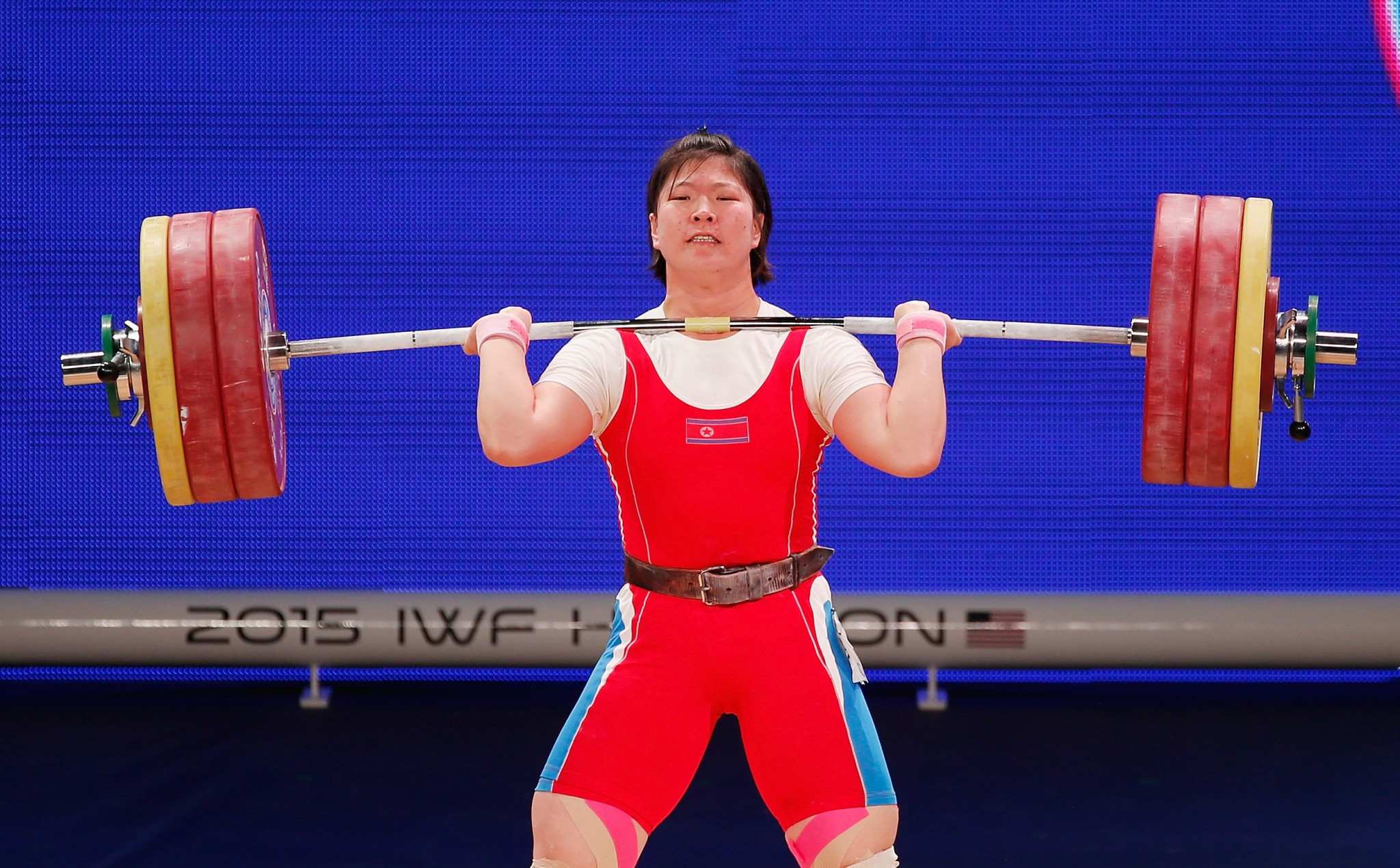 North Korea could be among the countries to benefit if their rivals are banned by the IWF from the World Championships in Anaheim ©Getty Images