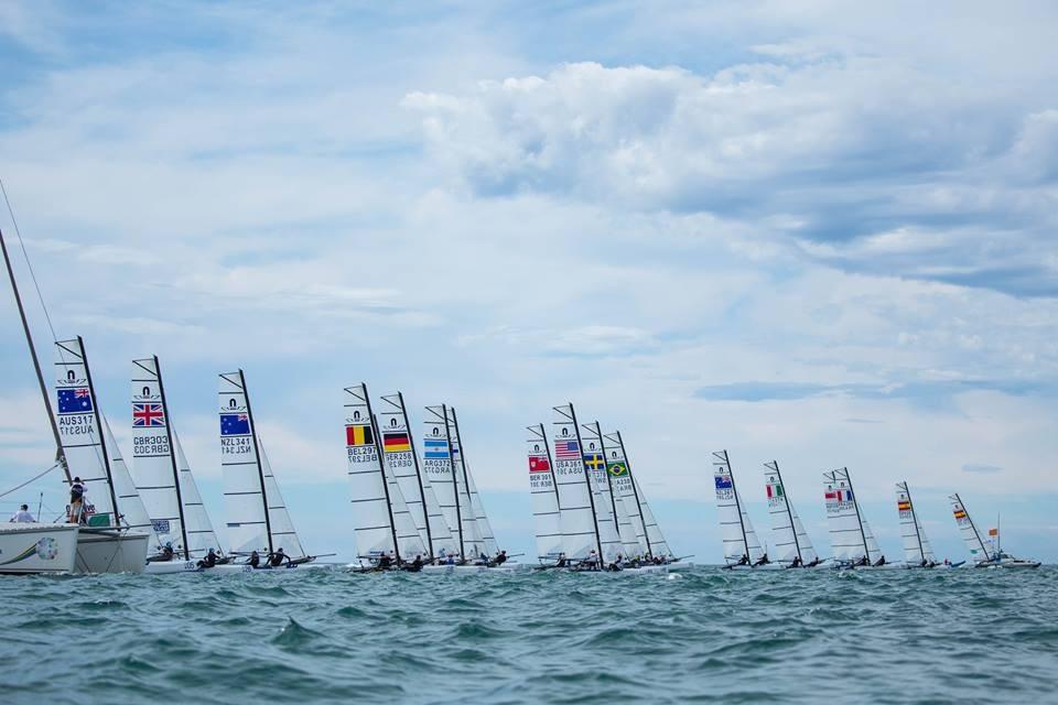 Danish duo move into lead at Nacra 17 World Championships