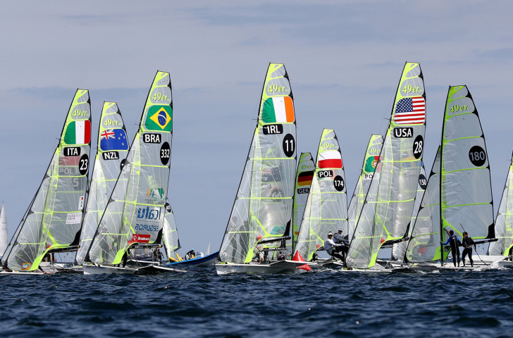 Sailing in the 49er class at the Kiel Regatta. Betting on the results of the World Championships was possible for the first time this year ©Getty Images