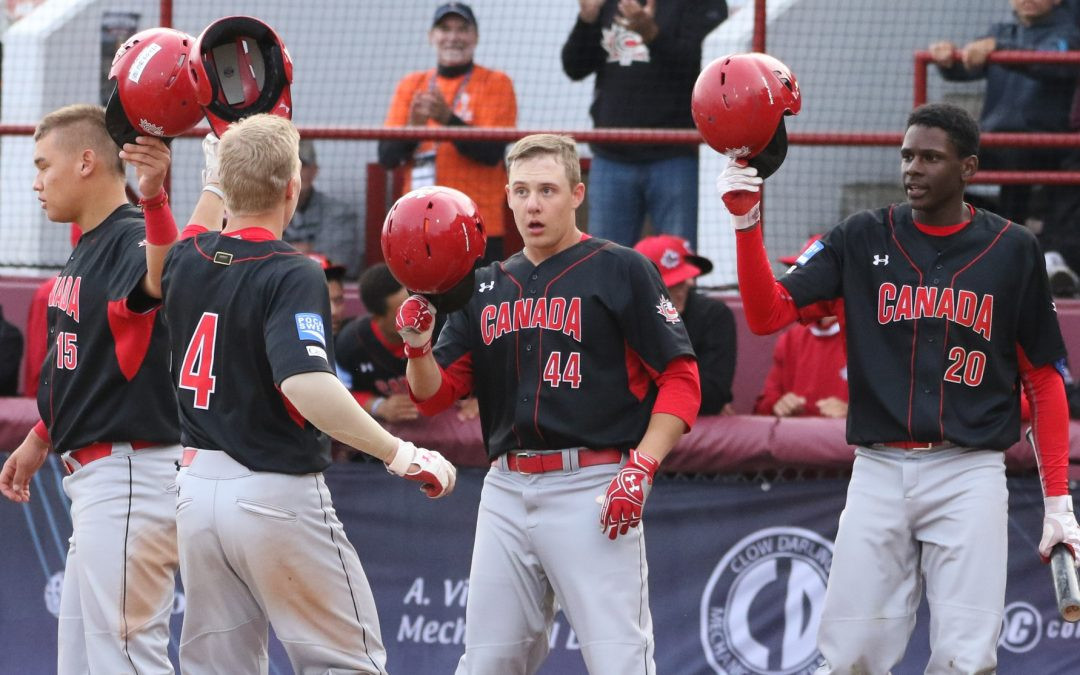 Hosts Canada successfully through to WBSC Under-18 World Cup Super Round