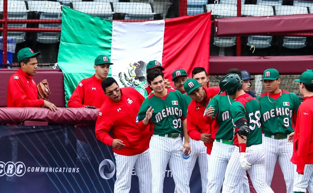 Mexico comfortably beat South Africa today ©WBSC