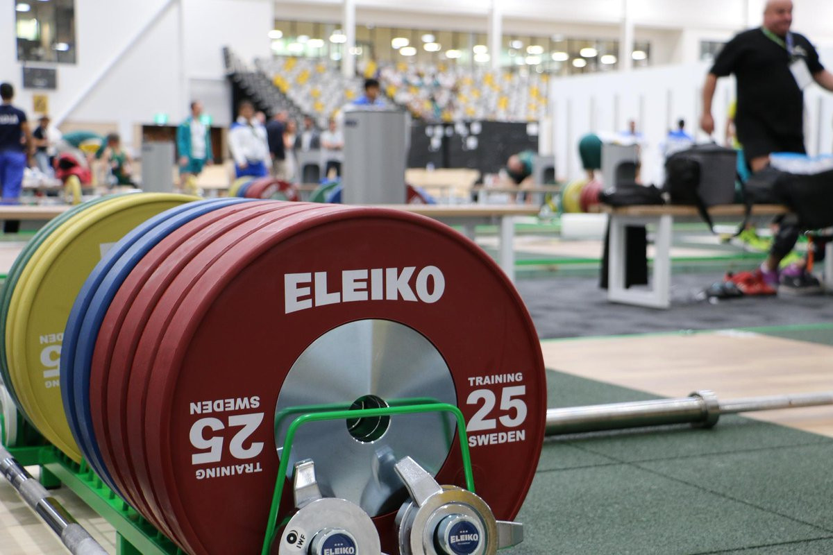 Eleiko has been selected as the official equipment supplier for weightlifting and powerlifting competitions ©GC2018
