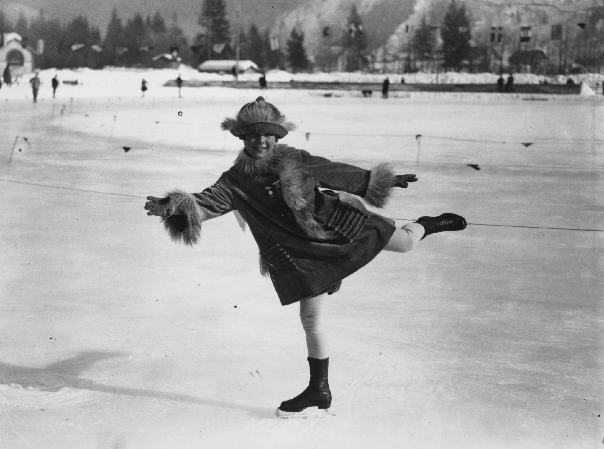The film will focus on the life of Norwegian figure skater Sonja Henie ©Getty Images