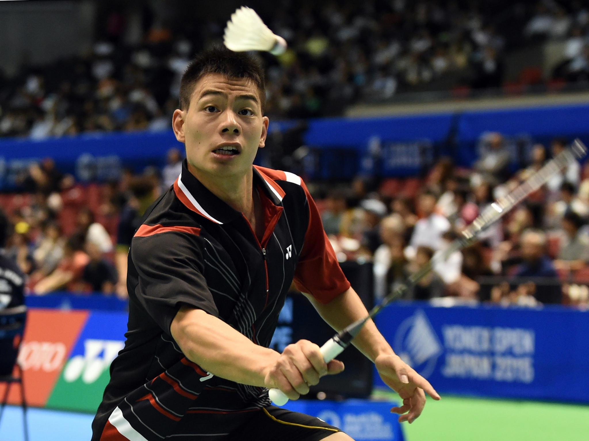 Men's top seed departs at BWF Vietnam Open