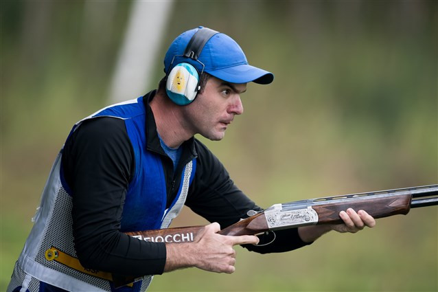 Gil and Rhode lead after skeet qualification at ISSF Shotgun World Championships