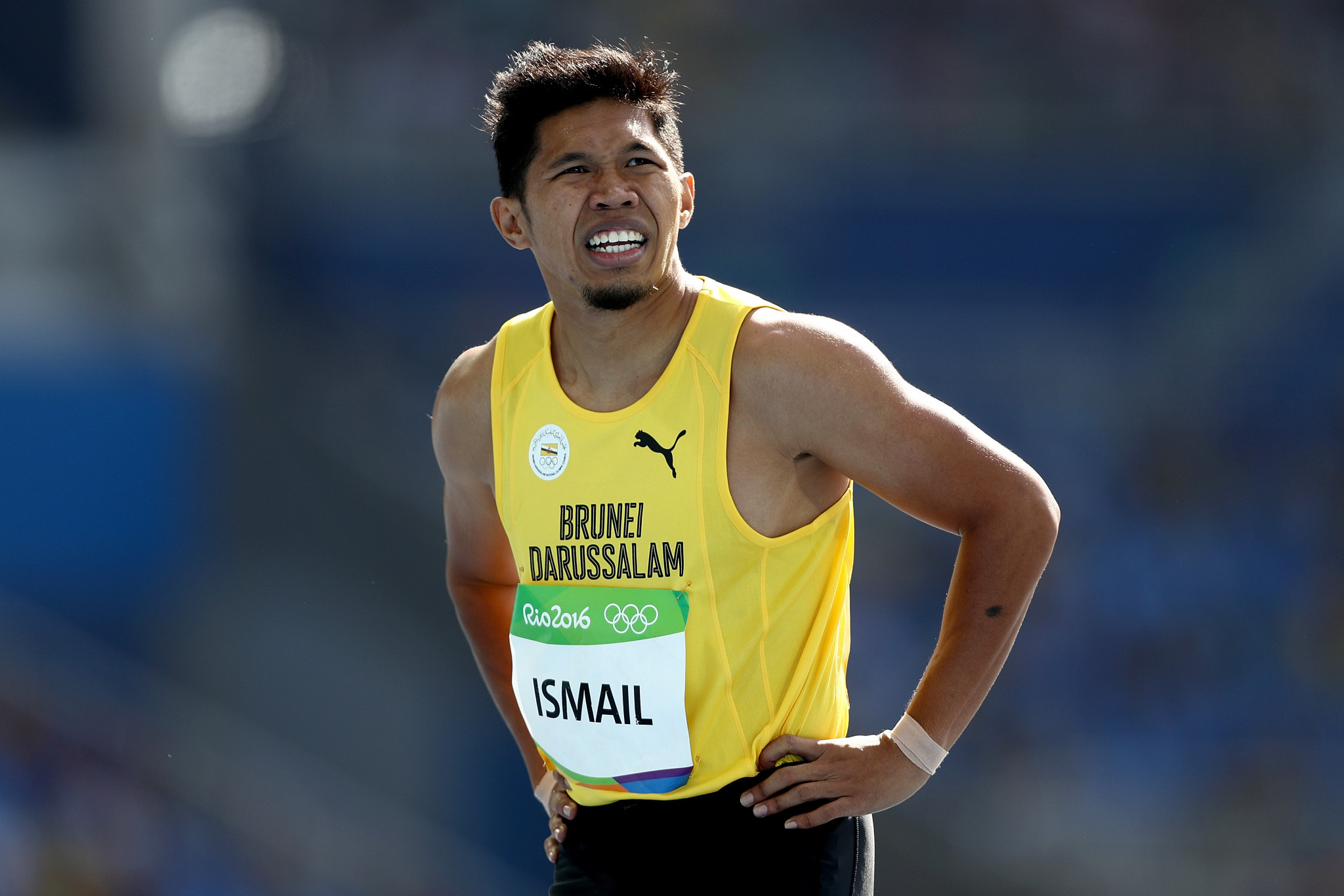 Dr Hj Danish Zaheer helped Brunei athletes across the world ©Getty Images