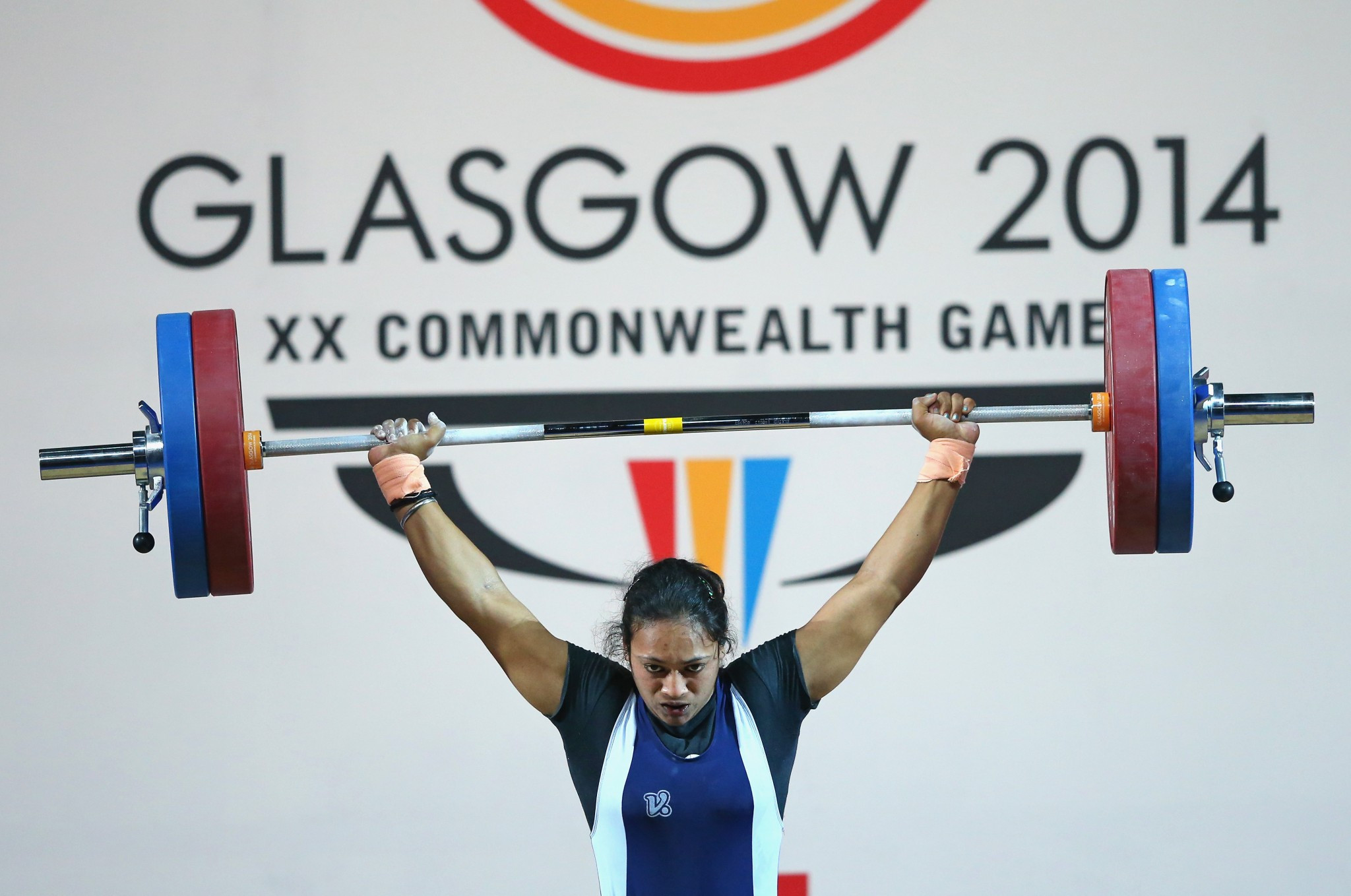 Punam Yadav won silver today ©Getty Images