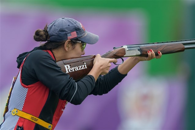Vizzi wins skeet title at ISSF World Shotgun Championships
