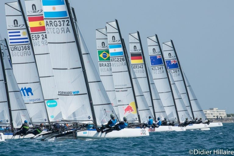 Italy's Tita and Banti take control at Nacra 17 World Championships