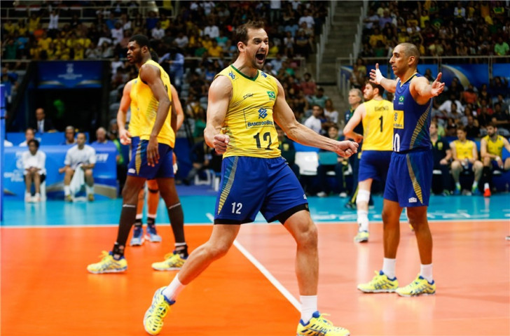 Hosts Brazil bounce back from opening defeat to secure vital win over United States at FIVB World League final event