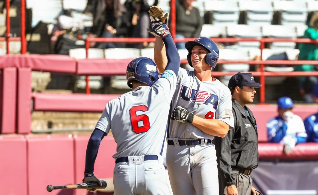 United States beat South Korea to take charge of super round at WBSC Under-18 World Cup