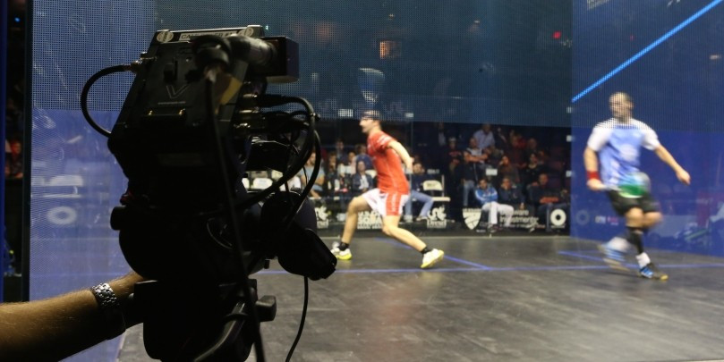 Squash to become first-ever racket sport to be broadcast live in Ultra HD in UK